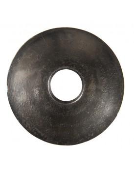 Affari aluminium bobeche zijdezwart