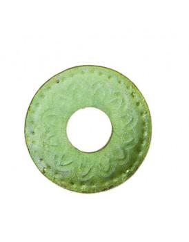 Affari metalen bobeche groen