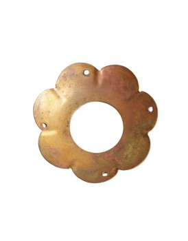 Affari metalen bobeche koper klein