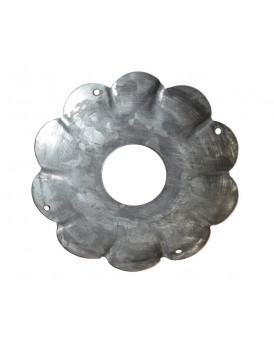 Affari metalen bobeche metaal groot