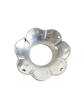 Affari metalen bobeche zilver klein