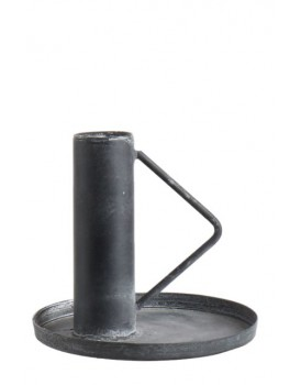 Affari kandelaar grijs