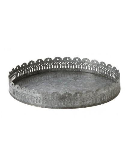 Affari metalen dienblad rond