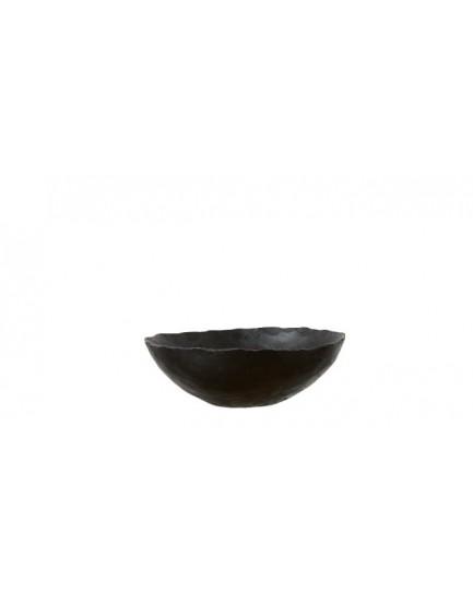 Affari metalen stalen schaaltje zwart S