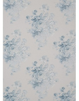 Annie Sloan stoffen Faded Roses Duck Egg