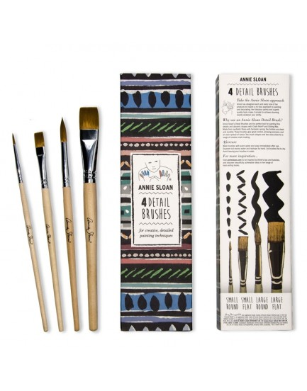 Annie Sloan set 4 detail brushes