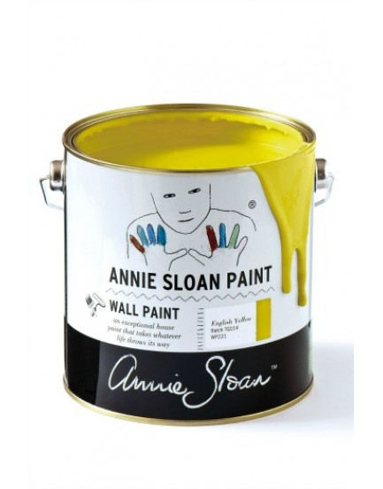 Annie Sloan Muurverf 2,5 ltr English Yellow