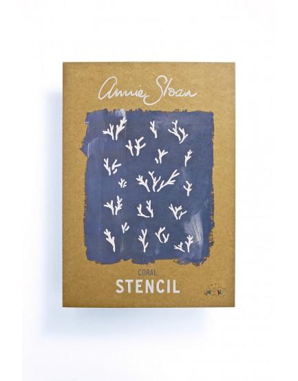 Annie Sloan stencil A3 Coral