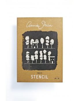 Annie Sloan stencil A3 Trees