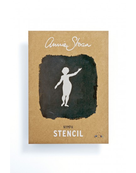 Annie Sloan stencil Nymph
