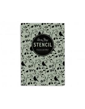 Annie Sloan stencil Countryside Bird