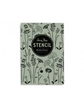 Annie Sloan stencil Meadow Flowers