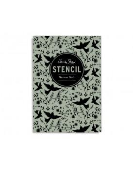 Annie Sloan stencil Mexican Birds