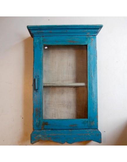 Authentieke vitrine wandkast 5