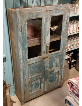 Authentiek 2-deurs kastje India