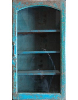 Authentieke vitrine wandkast