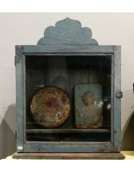 Klein authentieke vitrinekastje