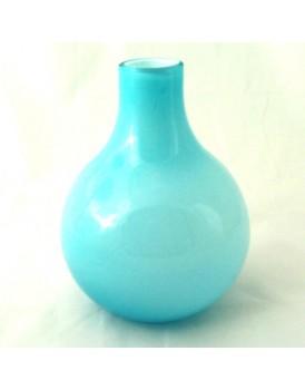 Bloomingville glazen vaas turquoise