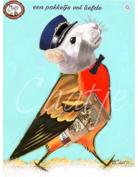 Postkaart Caatje 23