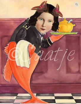 Postkaart Caatje 24