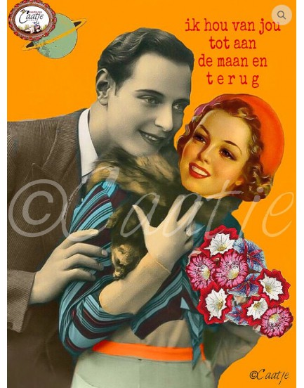Postkaart Caatje 30