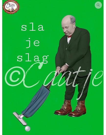 Postkaart Caatje 34