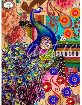 Postkaart Caatje vogels 4