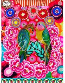 Postkaart Caatje vogels 2