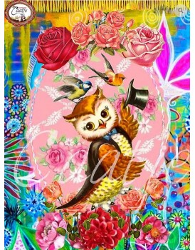 postkaart Caatje vogels 8