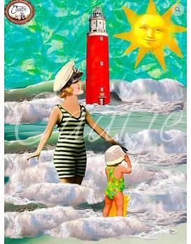 Postkaart Caatje zomer 10