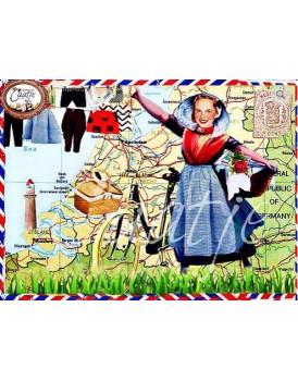 Postkaart Caatje zomer 6