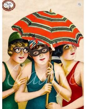 Postkaart Caatje zomer 7