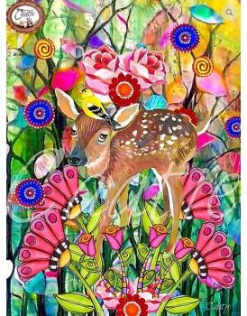 postkaart Caatje vogels 6
