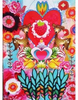 postkaart Caatje vogels 9