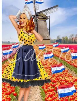 Postkaart Caatje zomer 11