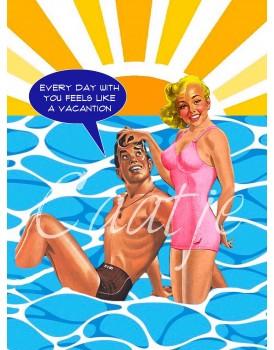 Postkaart Caatje zomer 13