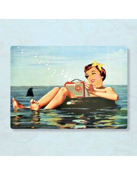postkaart Caatje zomer