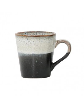 HK Living keramieken espressokopje rock
