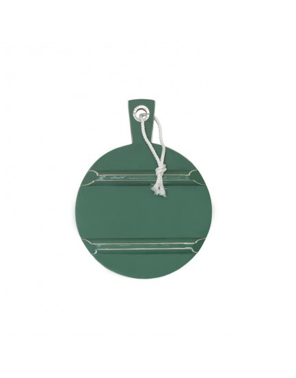 HK Living broodplank rond S forest green