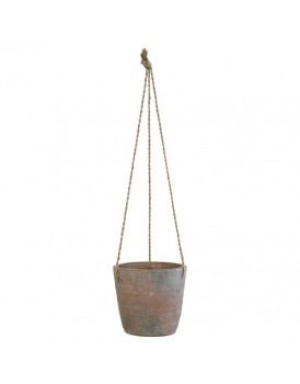 HK Living cement hanging pot M