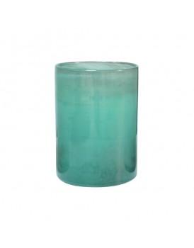 HK Living glazen vaas groen
