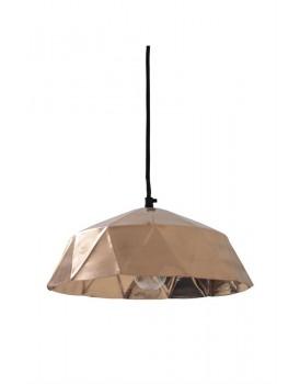 HK Living hanglamp diamant koper