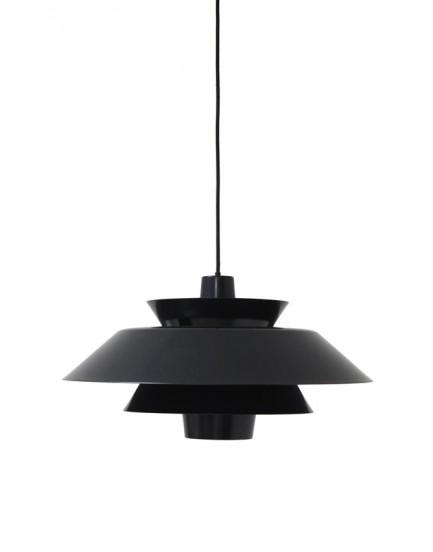 HK Living lounge hanglamp zwart