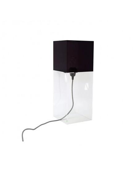 HK Living plexiglas tafellamp zwart