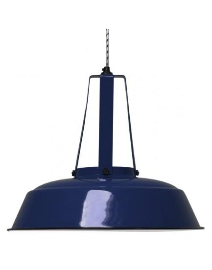 HK Living hanglamp workshop L donkerblauw