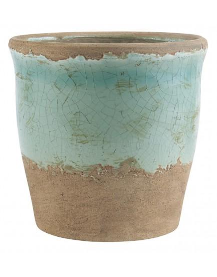 Ib Laursen aardewerk pot groen