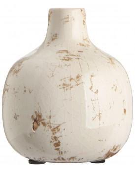 Ib Laursen aardewerk vaasje wit