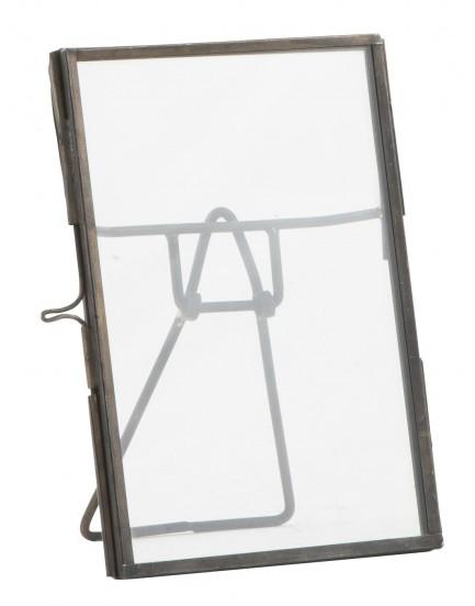 Ib Laursen fotolijstje dubbelglas staand M