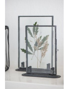 Ib Laursen fotolijstje dubbelglas zink