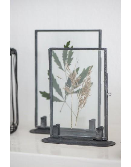Ib Laursen fotolijstje dubbelglas zink L